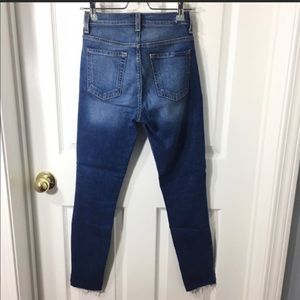 7 For All Mankind Jeans - 7 FAM High Rise Ankle Gwenevere Jeans Step Hem